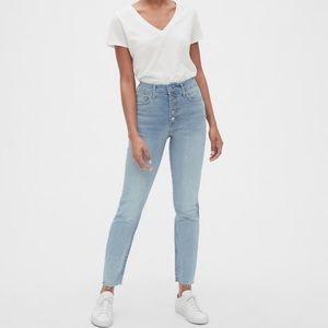 Gap True Skinny Button Fly Jeans